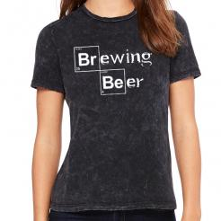 Heisenberg Brewing Beer Women's Crew Graphic Tee