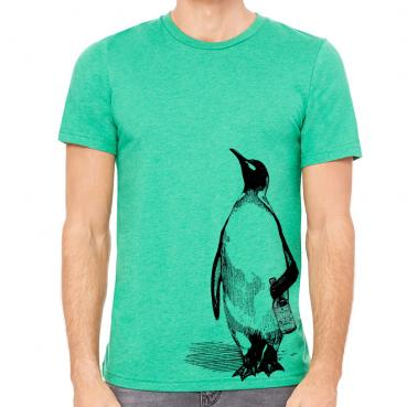 Beer Drinking Penguin Graphic Tee
