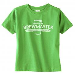 Assistant Brewmaster Toddler Tee