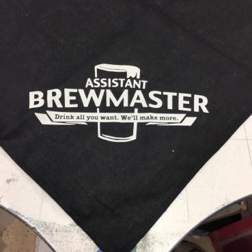 Assistant Brewmaster Dog Bandana