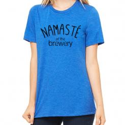 Namaste at the Brewery Missy Triblend Tee