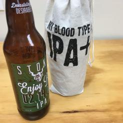 Blood Type IPA Drawstring Gift Bag