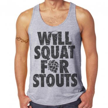 Will Squat For Stouts Athletic Unisex Tank
