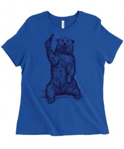 If you're gonna be a bear, be a grizzly - funny t-shirt