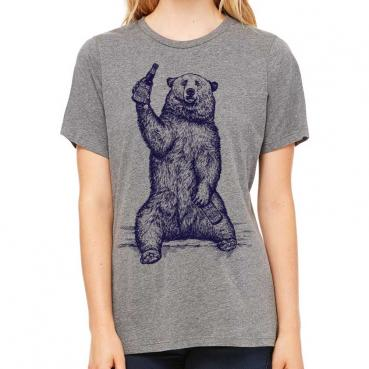 California Beer Bear T-shirt