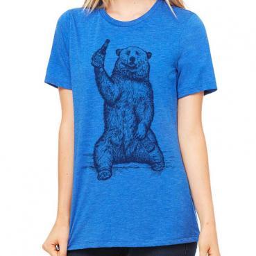 Funny Craft Beer Shirt - California Grizzly Bear Shirt