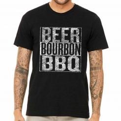 Beer Bourbon and BBQ Festival Official T-Shirt