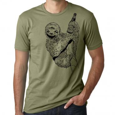 Beer Drinking Sloth