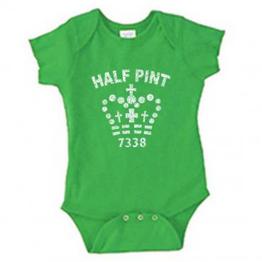 Half Pint Infant Bodysuit Onesie Creeper