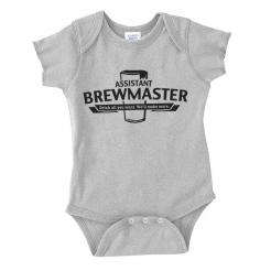 Assistant Brewmaster Infant Baby Bodysuit Onesie