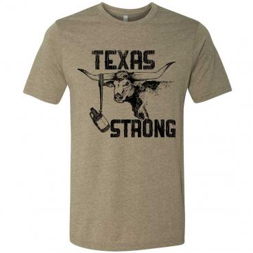Hurricane Harvey Relief Texas Strong Longhorn T-Shirt