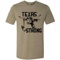 Hurricane Harvey Relief Texas Strong Longhorn T-Shirt