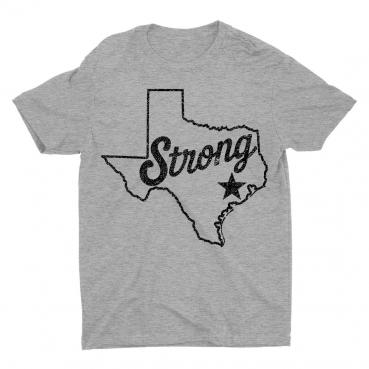 Hurricane Harvey Relief Texas Strong Star T-Shirt