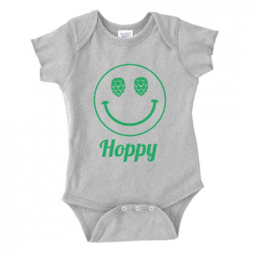 Hoppy Face Infant Bodysuit