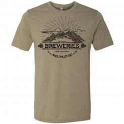 The Original Breweries are Calling and I Must Go - Mountain Graphic Tee