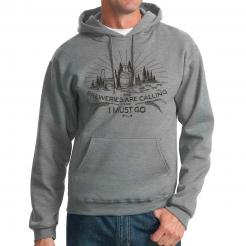 The Breweries are Calling and I Must Go Hooded Sweatshirt