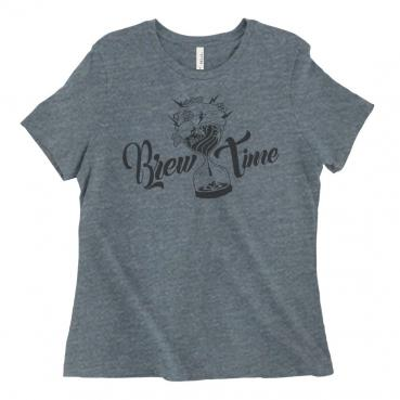 Brew Time Womens Graphic T-Shirt