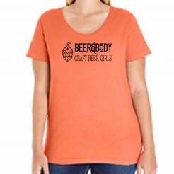 Beer and Body Curvy Tee