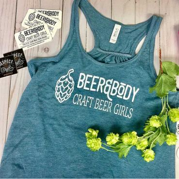 Beer and Body Logo Women's Flowy Tank