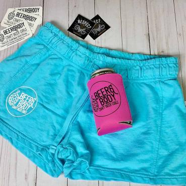 Beer and Body Logo French Terry Lounge Shorts