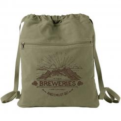 Breweries are Calling and I Must Go Mountain Backpack