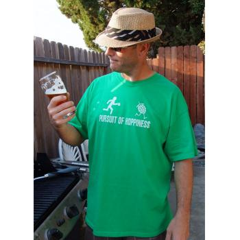 Pursuit of Hoppiness Irish Green Tee