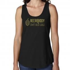 Beer&Body Logo Womens X-Temp Performance Tank
