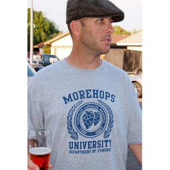 Morehops Univerisity T-Shirt