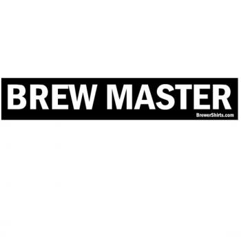 Brew Master Sticker