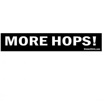More Hops Sticker