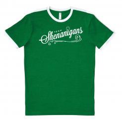 Team Shenanigans Ringer Soccer Jersey Tee