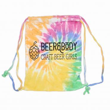 Beer&Body Logo Fleece Tie Dye Sport Bag