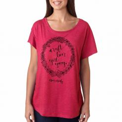 Craft Beer Girl Gang Women's Dolman Tee