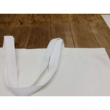 Tote bag straps and stitching