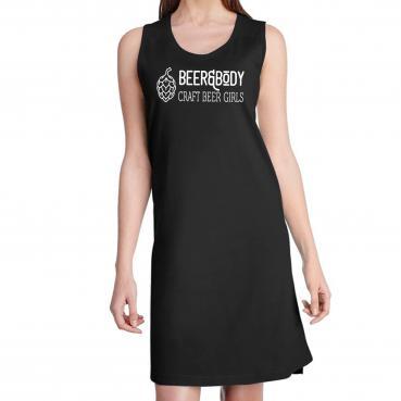 Beer&Body Logo Women's Fine Jersey Tank Dress