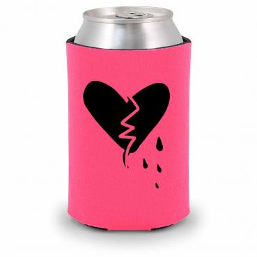 Beer Never Broke My Heart Foam Can Cozy