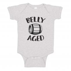 Belly Aged Onesie Bodysuit Romper Craft Beer Lover Brewer Baby Shower Gift