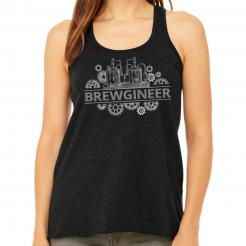 Brewgineer Beer Brewer Brewing Womens Tank Top Graphic Tee