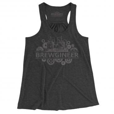 Brewgineer Beer Brewer Brewing Womens Tank Top Graphic Tee