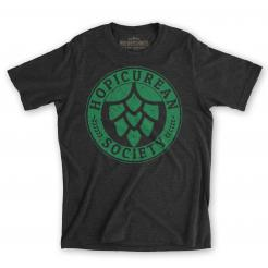 Hopicurean Society Craft Beer Festival Tee Hophead T-Shirt Gift for IPA Lovers
