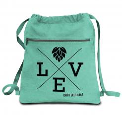 Beer&Body Love Canvas Backpack