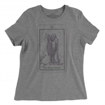 Hops Hermit Tarot Card - Womens Graphic Tee