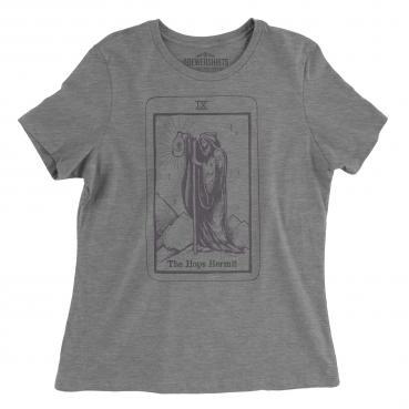 Hops Hermit Tarot Card - Womens Graphic Tee