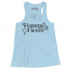 Femme & Fierce - Women's Flowy Tank