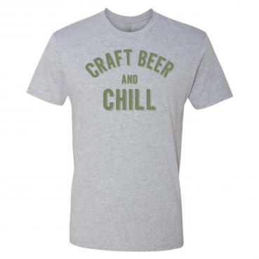 Craft Beer and Chill - Weekend Lounging Around Tee