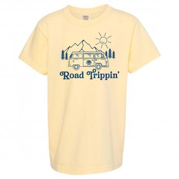 Road Trippin - Weekend Camping Adventure Unisex Graphic Tee