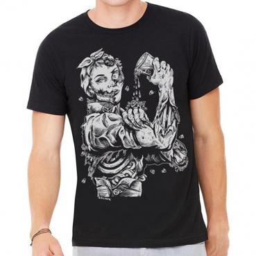 Rozie Riveter Zombie Girl Graphic Tee