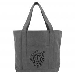 Craft Beer Girls Logo Canvas Boat Tote