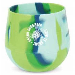 Hoppy Sea Turtle - Silicone Boat Snifter - Outdoor Camping Beer Glass Silicone Cup