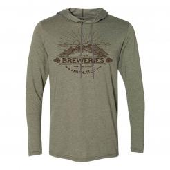 The Breweries are Calling and I Must Go Long Sleeve Hooded T-Shirt Graphic Hoodie Tee